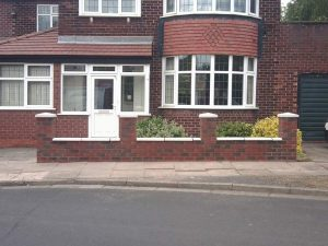 porch and side extension building services manchester